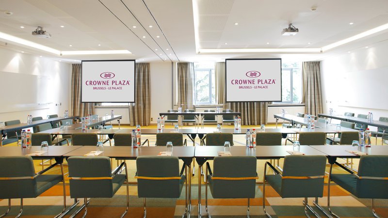 Crowne Plaza Brussels - Le Palace-Creativity & Exploration Rooms - Classroom style (max. 75 people)<br/>Image from Leonardo