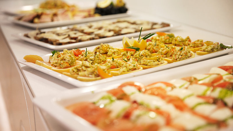 Crowne Plaza Brussels - Le Palace-Fresh & halthy food at our buffet<br/>Image from Leonardo
