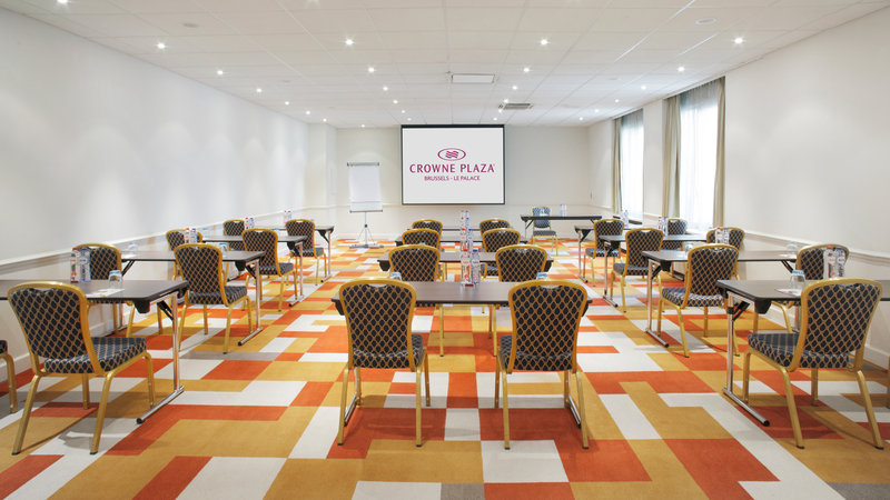 Crowne Plaza Brussels - Le Palace-Serenity Room - Classroom Style (max. 54 people)<br/>Image from Leonardo