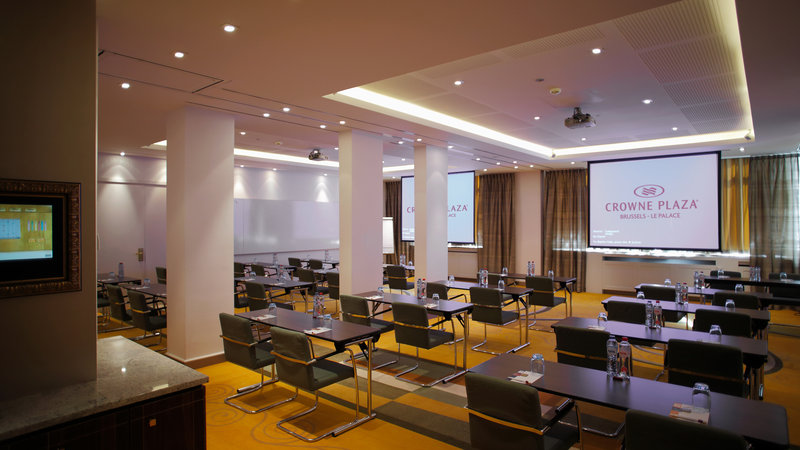 Crowne Plaza Brussels - Le Palace-Evasion+Innovation - Classroom style (max. 50 people)<br/>Image from Leonardo