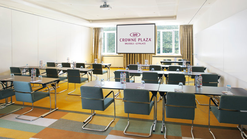 Crowne Plaza Brussels - Le Palace-Exploration - Classroom style (max. 50 people)<br/>Image from Leonardo