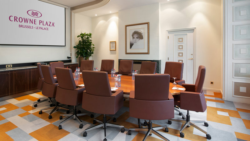 Crowne Plaza Brussels - Le Palace-Grace Boardroom-Board (max. 12 people)<br/>Image from Leonardo