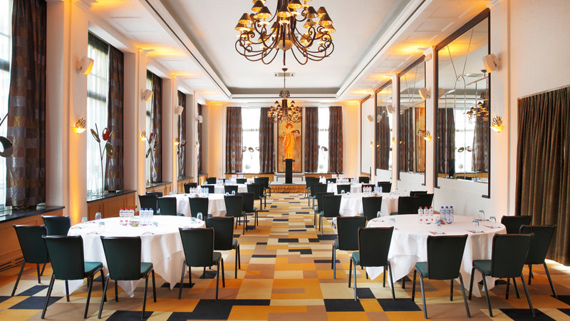 Crowne Plaza Brussels - Le Palace-Klimt Room - Cabaret style (max. 90 people)<br/>Image from Leonardo