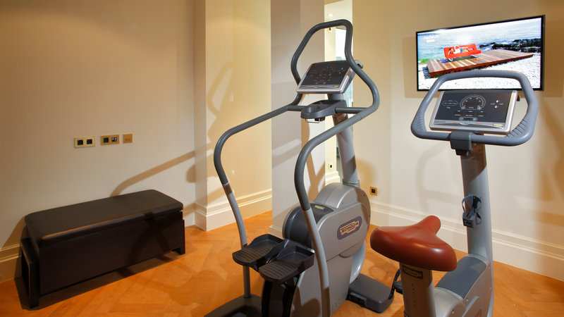 Crowne Plaza Brussels - Le Palace-Private Fitness Room with TV in the Presidential Suite<br/>Image from Leonardo