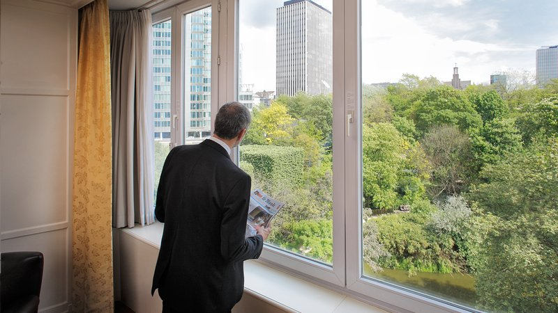 Crowne Plaza Brussels - Le Palace-Fantastic green view from Deluxe Room<br/>Image from Leonardo