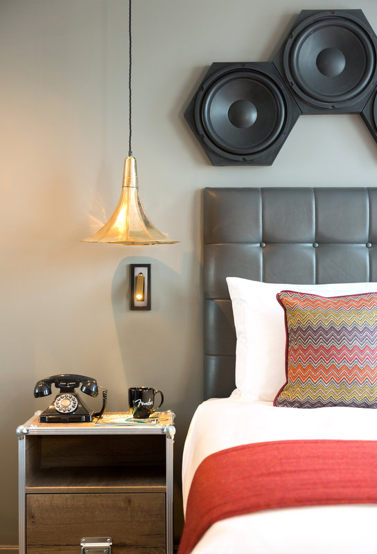 Indigo Cardiff-Standard Room - Inspired by our Musical heritage<br/>Image from Leonardo