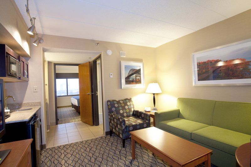 Holiday Inn Hotel & Suites Duluth-Downtown-Spacious sitting area in a Suite Room<br/>Image from Leonardo