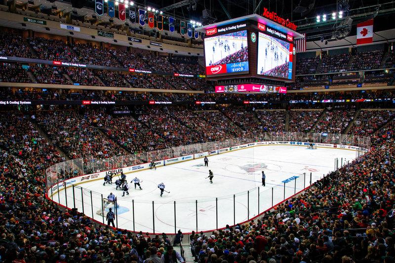 Holiday Inn St. Paul Downtown-Minnesota Wild Hockey Game<br/>Image from Leonardo