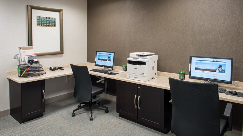Holiday Inn St. Paul Downtown-Business center with WIFI and printer.<br/>Image from Leonardo