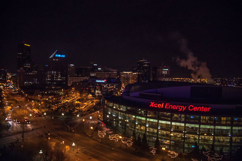 Holiday Inn St. Paul Downtown-Directly across the street from Xcel Energy Center<br/>Image from Leonardo