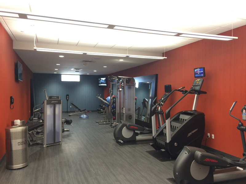 InterContinental Saint Paul Riverfront-Fitness Center Cardio/Free Weights<br/>Image from Leonardo