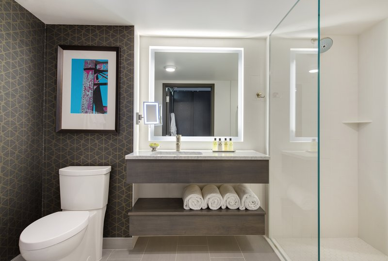 InterContinental Saint Paul Riverfront-Guest Bathroom single sink<br/>Image from Leonardo