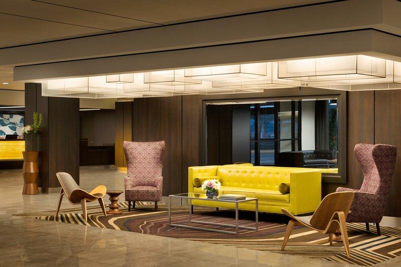 InterContinental Saint Paul Riverfront-Hotel Lobby seating area<br/>Image from Leonardo
