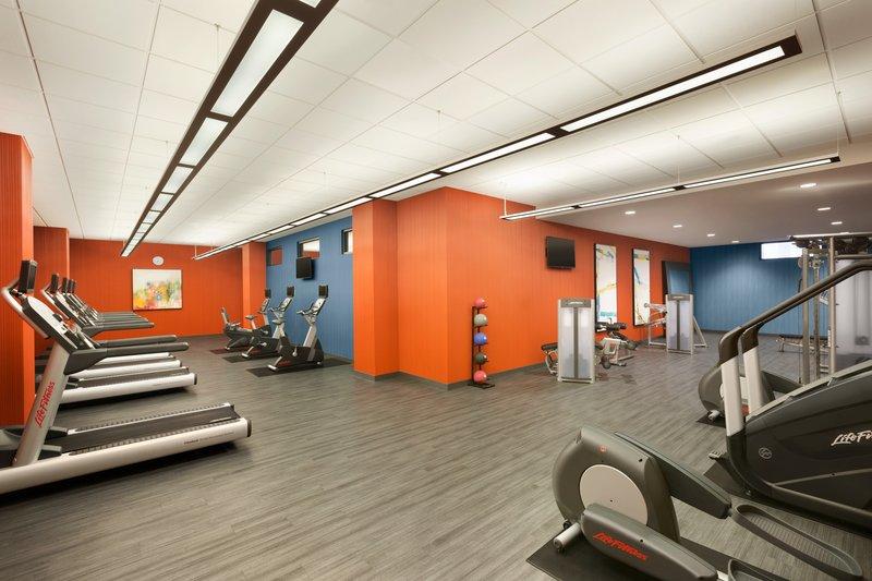 InterContinental Saint Paul Riverfront-Fitness Center<br/>Image from Leonardo