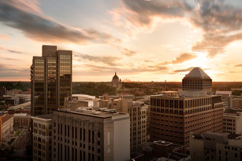InterContinental Saint Paul Riverfront-View from Hotel<br/>Image from Leonardo