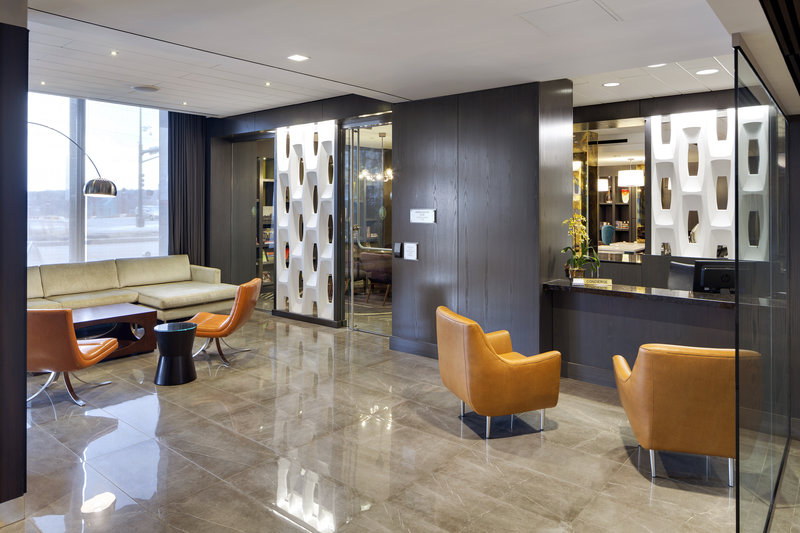 InterContinental Saint Paul Riverfront-Concierge and seating area<br/>Image from Leonardo