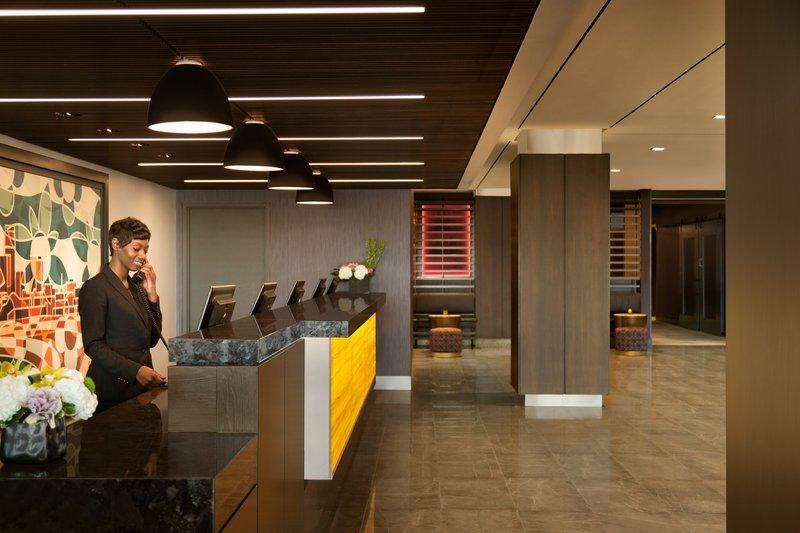 InterContinental Saint Paul Riverfront-Front Desk<br/>Image from Leonardo
