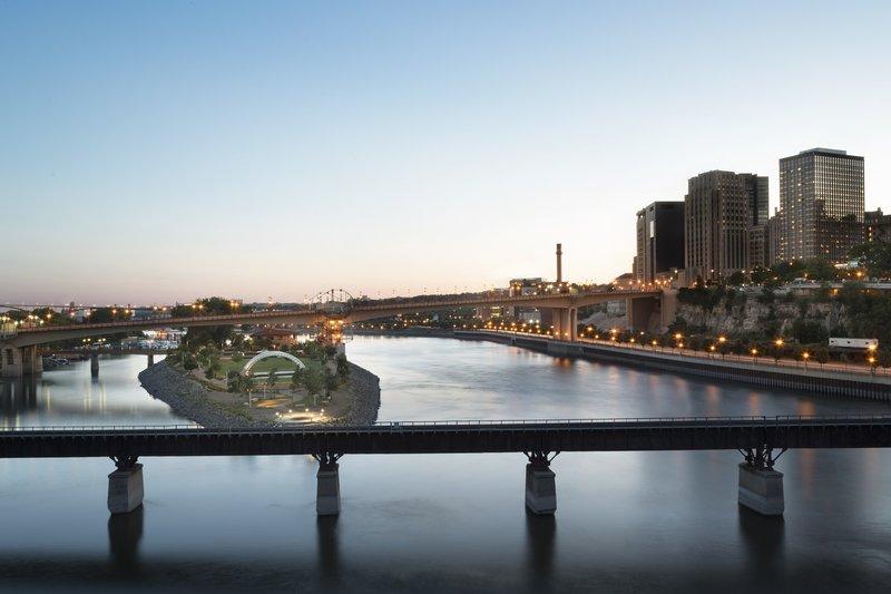 InterContinental Saint Paul Riverfront-Riverfront view<br/>Image from Leonardo