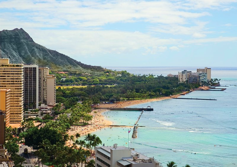 Waikiki Beachcomber By Outrigger - Waikiki Beachcomber Outrigger Diamond Head View <br/>Image from Leonardo