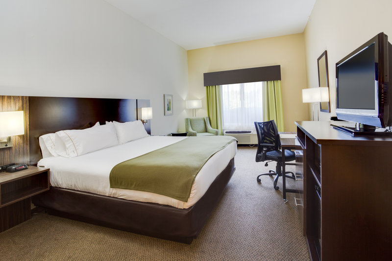 Holiday Inn Express & Suites Tampa-I-75 @ Bruce B. Downs-ADA/Hearing accessible King Guest Room<br/>Image from Leonardo