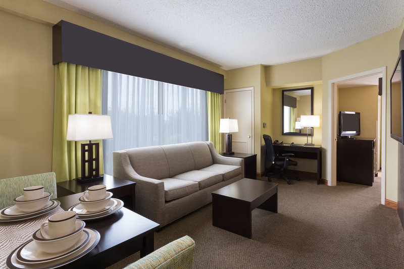 Holiday Inn Express & Suites Tampa-I-75 @ Bruce B. Downs-Presidential Suite living area<br/>Image from Leonardo