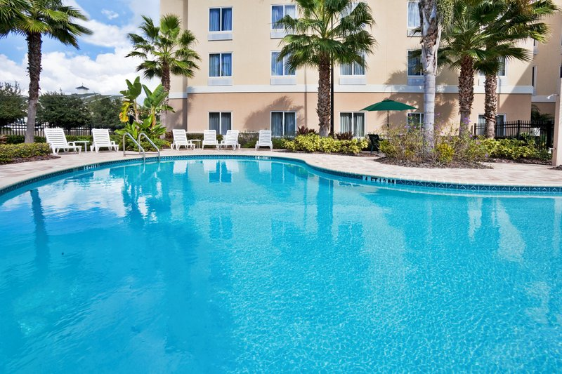 Holiday Inn Express & Suites Tampa-I-75 @ Bruce B. Downs-Swim in our beautiful heated pool<br/>Image from Leonardo