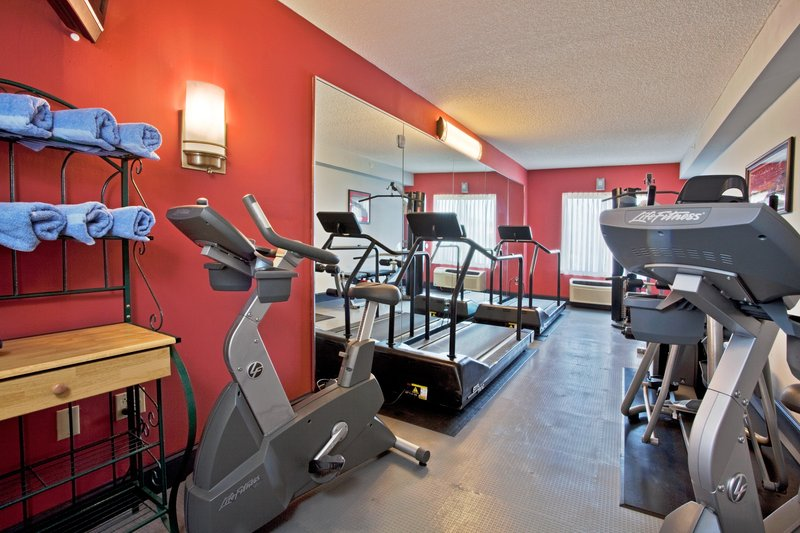 Holiday Inn Express & Suites Tampa-I-75 @ Bruce B. Downs-Work out in our updated fitness room<br/>Image from Leonardo