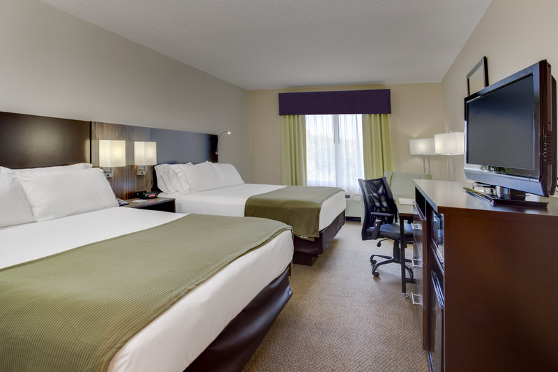 Holiday Inn Express & Suites Tampa-I-75 @ Bruce B. Downs-Two Queen Guest Room<br/>Image from Leonardo