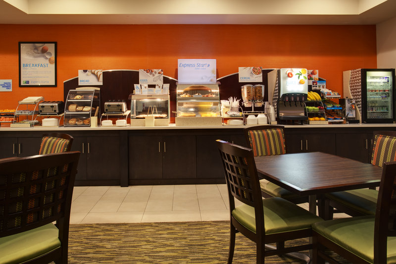 Holiday Inn Express & Suites Tampa-I-75 @ Bruce B. Downs-Breakfast Bar<br/>Image from Leonardo