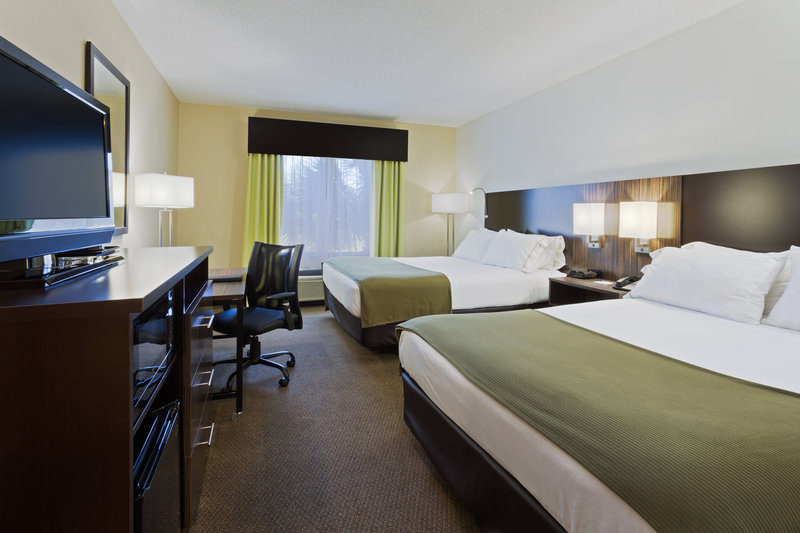 Holiday Inn Express & Suites Tampa-I-75 @ Bruce B. Downs-ADA/Handicapped accessible Two Queen Guest Room<br/>Image from Leonardo