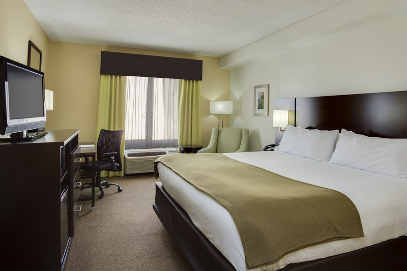 Holiday Inn Express & Suites Tampa-I-75 @ Bruce B. Downs-ADA/Handicapped accessible King Guest Room<br/>Image from Leonardo