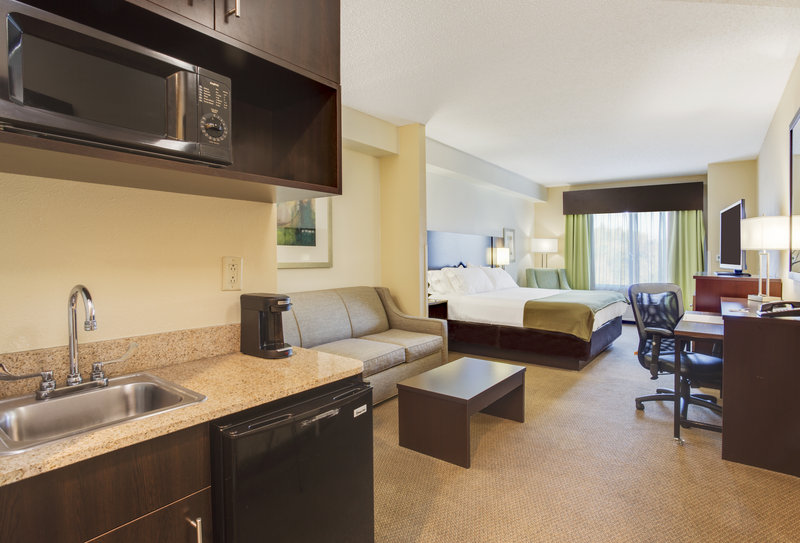 Holiday Inn Express & Suites Tampa-I-75 @ Bruce B. Downs-ADA/Hearing accessible King Suite<br/>Image from Leonardo