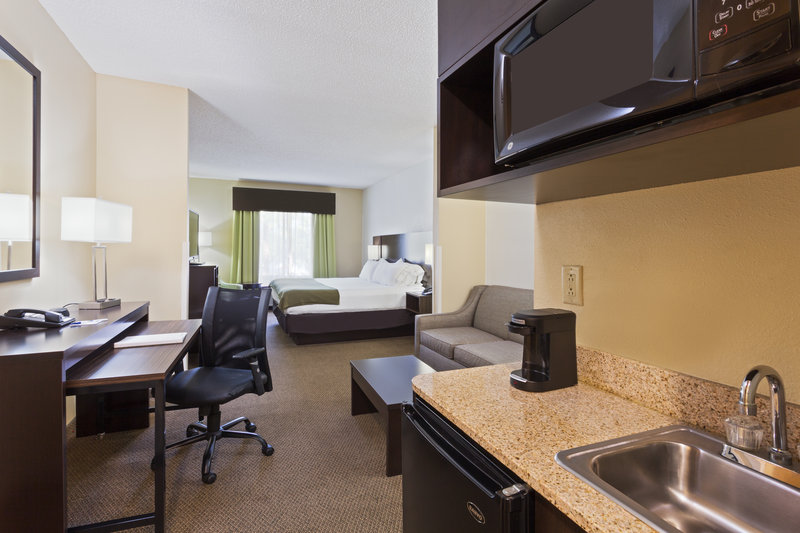 Holiday Inn Express & Suites Tampa-I-75 @ Bruce B. Downs-King Studio Suite<br/>Image from Leonardo