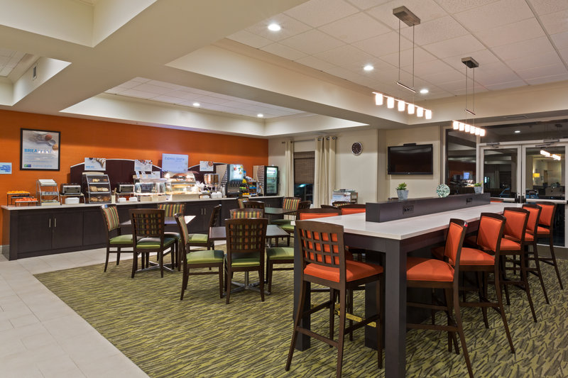 Holiday Inn Express & Suites Tampa-I-75 @ Bruce B. Downs-Breakfast Area<br/>Image from Leonardo
