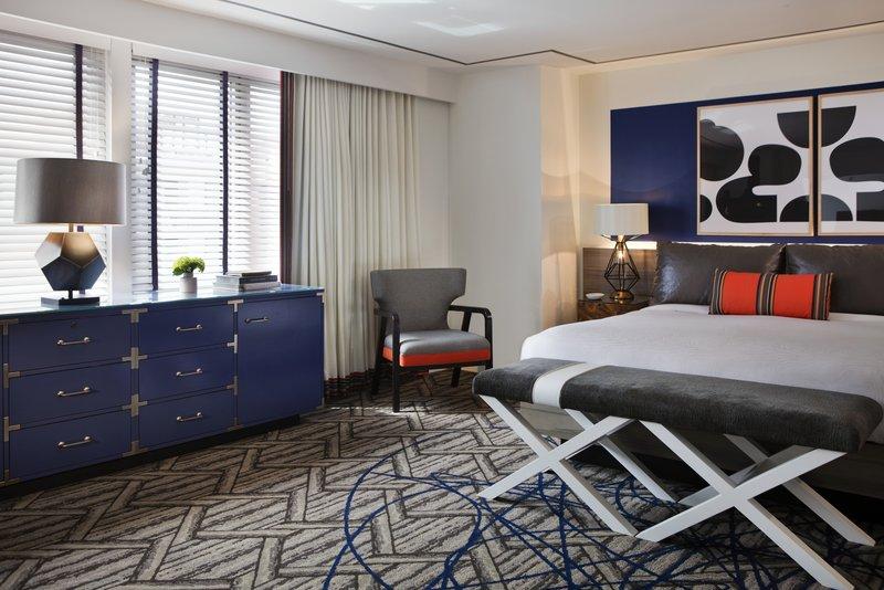 Kimpton Hotel Palomar DC - Suite Bedroom <br/>Image from Leonardo