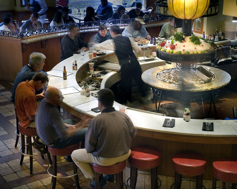Astor Crowne Plaza French Quarter - Astor Crowne Plaza Hotel - Bourbon House Oyster Bar <br/>Image from Leonardo