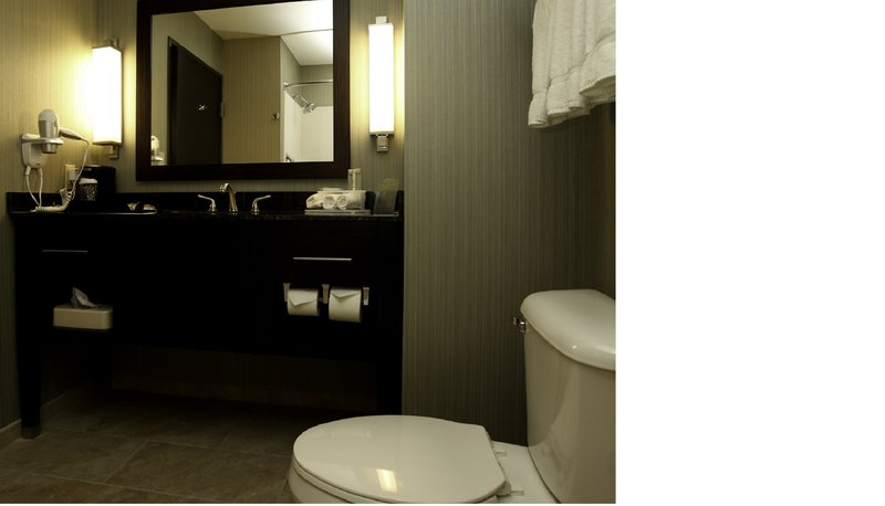 Holiday Inn Express & Suites Marion Northeast-Guest Bathroom<br/>Image from Leonardo