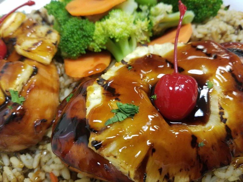 Holiday Inn Berkshires-Crilled Chicken Teriyaki<br/>Image from Leonardo