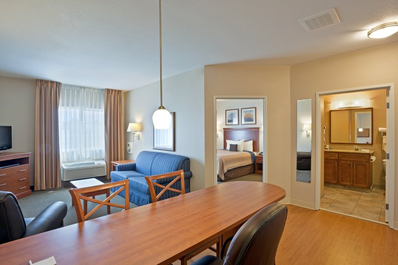Candlewood Suites Portland Airport-One Bedroom Living Room Extended Stay- Extended Stay Hotel<br/>Image from Leonardo