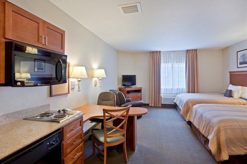 Candlewood Suites Portland Airport-Double Queen Bed Guest Room<br/>Image from Leonardo