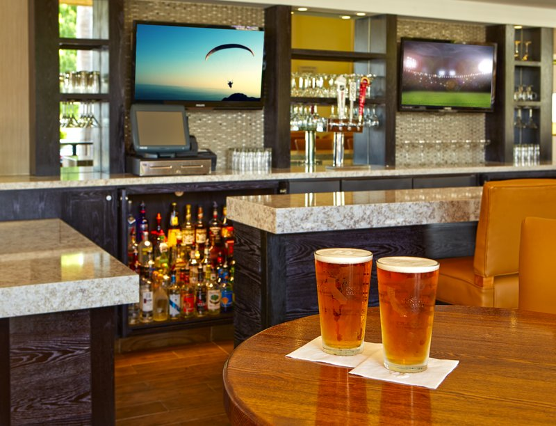 Holiday Inn Hotel & Suites Santa Maria-Lobby Bar inside our onsite Restaurant<br/>Image from Leonardo