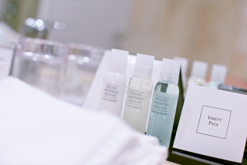 Crowne Plaza Hannover-Bathroom Amenities<br/>Image from Leonardo
