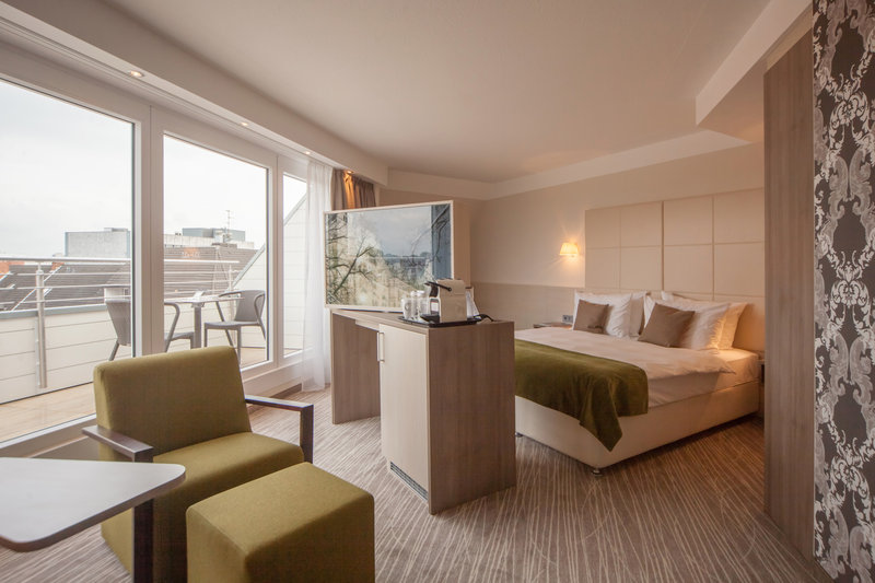 Crowne Plaza Hannover-New Executive room with balcony at the Crowne Plaza Hannover<br/>Image from Leonardo