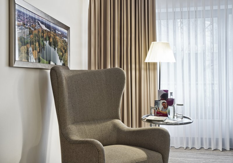 Crowne Plaza Hannover-Comfortable Wing Chair<br/>Image from Leonardo