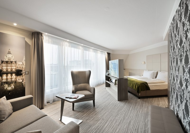Crowne Plaza Hannover-Executive room with balcony<br/>Image from Leonardo