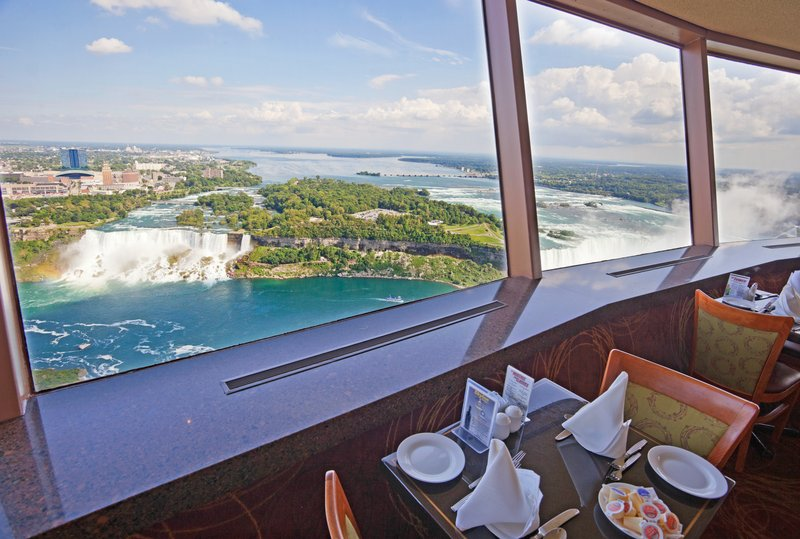 Holiday Inn Niagara Falls - by the Falls-View from the Skylon Tower available on our 2 night package.<br/>Image from Leonardo