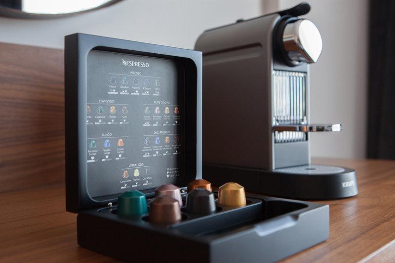 Crowne Plaza Newcastle - Stephenson Quarter-Nespresso Expresso Machine in Club Rooms and Suites<br/>Image from Leonardo