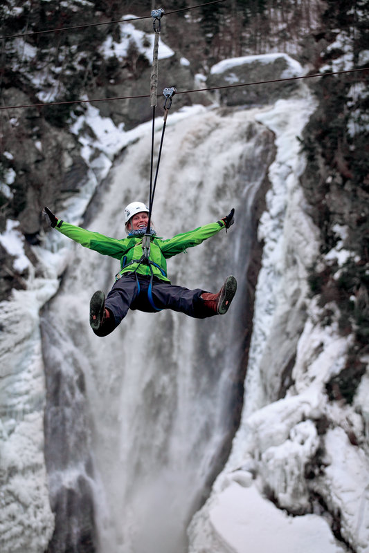 Holiday Inn Express Deer Lake-Zip Lining At Marble Zip - Credit to NL Tourism<br/>Image from Leonardo