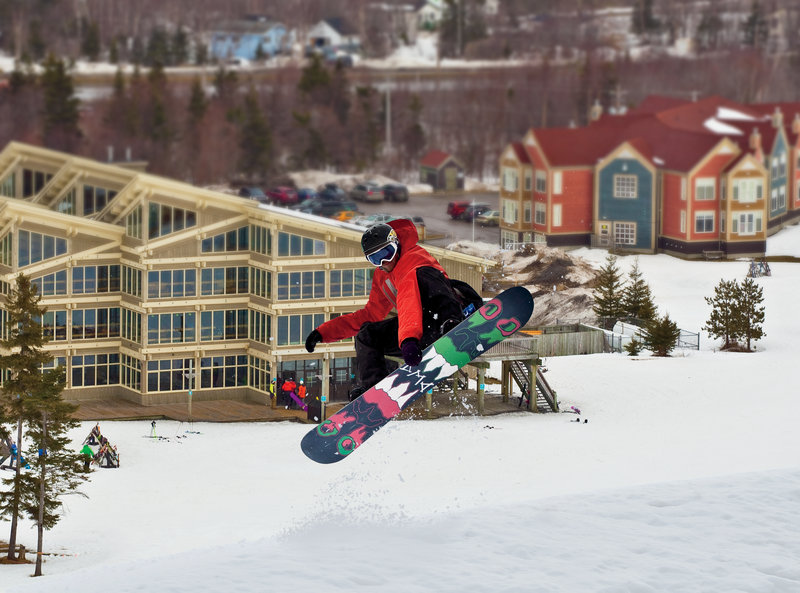 Holiday Inn Express Deer Lake-Snowboarding At Marble - Credit to NL Tourism<br/>Image from Leonardo