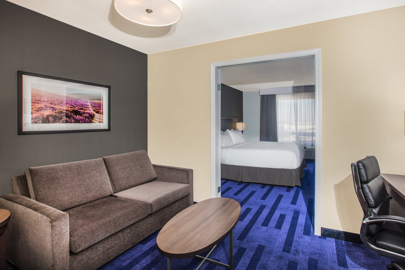 Holiday Inn Hotel & Suites Grande Prairie-Conference Ctr-Enjoy free WiFi and parking when you stay in our King Suite<br/>Image from Leonardo